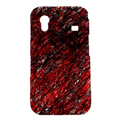 Red and black pattern Samsung Galaxy Ace S5830 Hardshell Case
