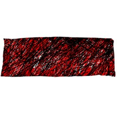 Red and black pattern Body Pillow Case Dakimakura (Two Sides)