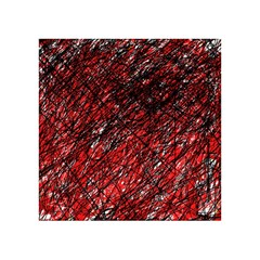Red and black pattern Acrylic Tangram Puzzle (4  x 4 )