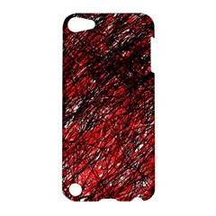Red and black pattern Apple iPod Touch 5 Hardshell Case