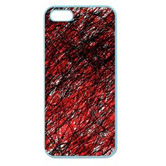 Red and black pattern Apple Seamless iPhone 5 Case (Color)
