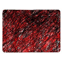 Red and black pattern Kindle Fire (1st Gen) Flip Case