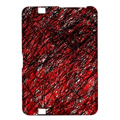 Red and black pattern Kindle Fire HD 8.9