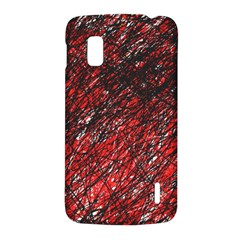 Red and black pattern LG Nexus 4