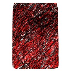 Red and black pattern Flap Covers (S)
