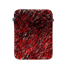 Red and black pattern Apple iPad 2/3/4 Protective Soft Cases
