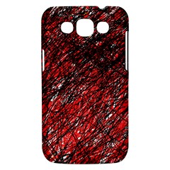Red and black pattern Samsung Galaxy Win I8550 Hardshell Case