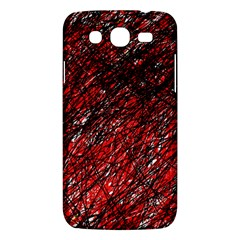 Red and black pattern Samsung Galaxy Mega 5.8 I9152 Hardshell Case