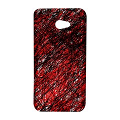 Red and black pattern HTC Butterfly S/HTC 9060 Hardshell Case