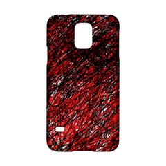Red and black pattern Samsung Galaxy S5 Hardshell Case