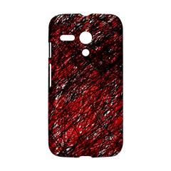 Red and black pattern Motorola Moto G