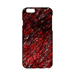 Red and black pattern Apple iPhone 6/6S Hardshell Case