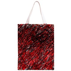 Red and black pattern Classic Light Tote Bag
