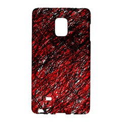 Red and black pattern Galaxy Note Edge