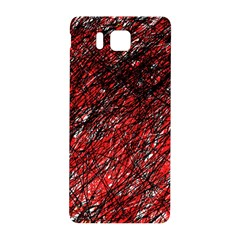 Red and black pattern Samsung Galaxy Alpha Hardshell Back Case