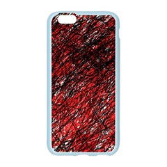 Red and black pattern Apple Seamless iPhone 6/6S Case (Color)