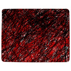 Red and black pattern Jigsaw Puzzle Photo Stand (Rectangular)