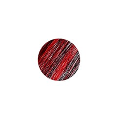 Red and black elegant pattern 1  Mini Buttons