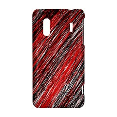 Red and black elegant pattern HTC Evo Design 4G/ Hero S Hardshell Case