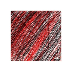 Red and black elegant pattern Acrylic Tangram Puzzle (4  x 4 )