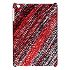 Red and black elegant pattern Apple iPad Mini Hardshell Case