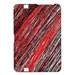 Red and black elegant pattern Kindle Fire HD 8.9