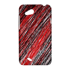 Red and black elegant pattern HTC Desire VC (T328D) Hardshell Case