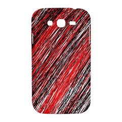 Red and black elegant pattern Samsung Galaxy Grand DUOS I9082 Hardshell Case