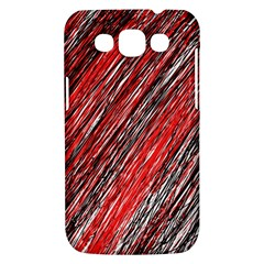 Red and black elegant pattern Samsung Galaxy Win I8550 Hardshell Case