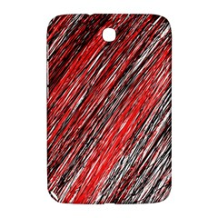 Red and black elegant pattern Samsung Galaxy Note 8.0 N5100 Hardshell Case