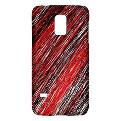 Red and black elegant pattern Galaxy S5 Mini