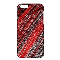 Red and black elegant pattern Apple iPhone 6 Plus/6S Plus Hardshell Case