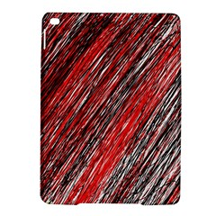 Red and black elegant pattern iPad Air 2 Hardshell Cases
