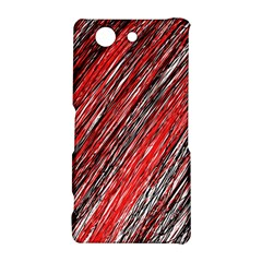 Red and black elegant pattern Sony Xperia Z3 Compact