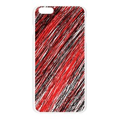 Red and black elegant pattern Apple Seamless iPhone 6 Plus/6S Plus Case (Transparent)