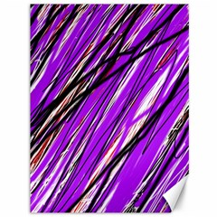 Purple pattern Canvas 36  x 48
