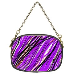 Purple pattern Chain Purses (Two Sides)