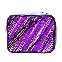 Purple pattern Mini Toiletries Bags