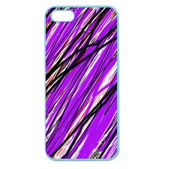 Purple pattern Apple Seamless iPhone 5 Case (Color)