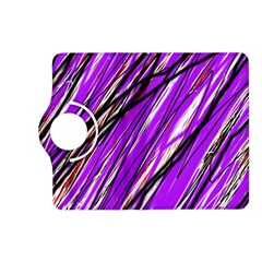 Purple pattern Kindle Fire HD (2013) Flip 360 Case