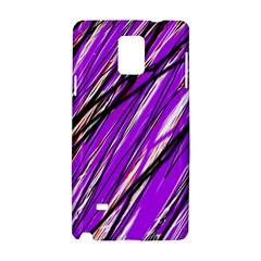 Purple pattern Samsung Galaxy Note 4 Hardshell Case