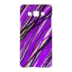 Purple pattern Samsung Galaxy A5 Hardshell Case