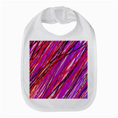 Purple Pattern Bib