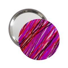 Purple pattern 2.25  Handbag Mirrors