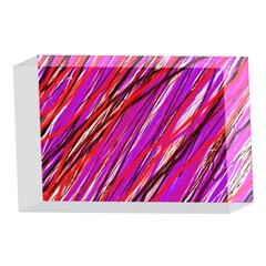 Purple pattern 4 x 6  Acrylic Photo Blocks