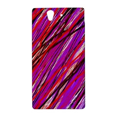 Purple pattern Sony Xperia Z