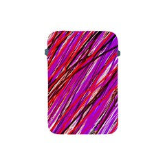 Purple pattern Apple iPad Mini Protective Soft Cases