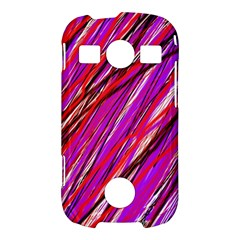 Purple pattern Samsung Galaxy S7710 Xcover 2 Hardshell Case
