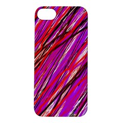Purple pattern Apple iPhone 5S/ SE Hardshell Case