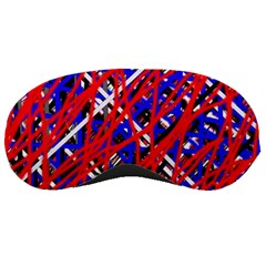 Red and blue pattern Sleeping Masks